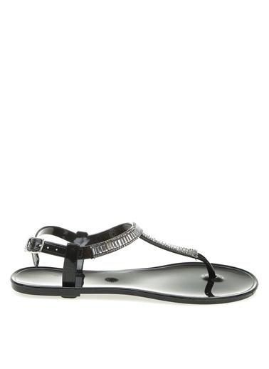 T-Box Sandalet Siyah